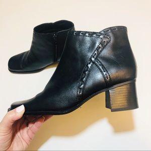Croft and Barrow Monique Black ankle boot